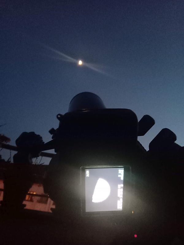 Mondfotografie am Mak-Teleskop