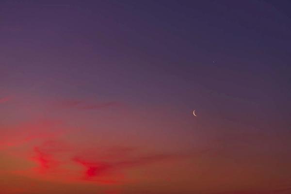 Morgenrot zur Blauen Stunde